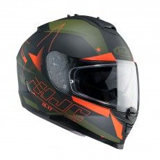 HJC IS-17 Full Face Helmet Armada MC-7F