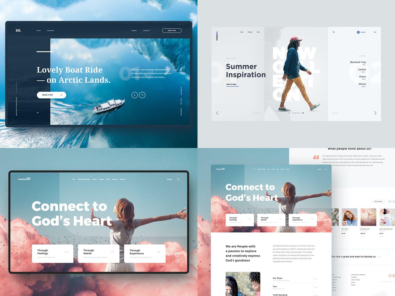 Drbl 2018 Web Layout Design Modern Web Design Web Design Inspiration