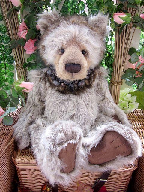 35cm groß Charlie Bears Teddy Bär Bumble Bee ca