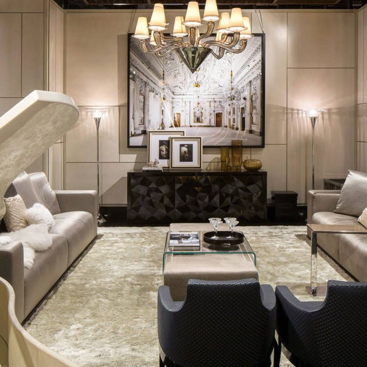 Luxury Mansion Living Room Designer: Luxury Living And Fendi Casa Find A Home In New York