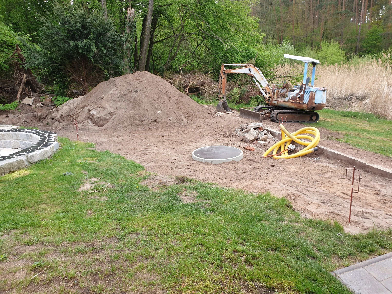 Projekt Toskana Episode 1 Platz Da Die Arbeiten Am Projekt Toskana Beginnen Gartenbau Garten Gartengestaltung