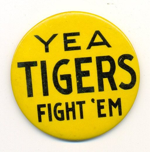 1899 Missouri Tigers Football Pinback Button by juliantiques