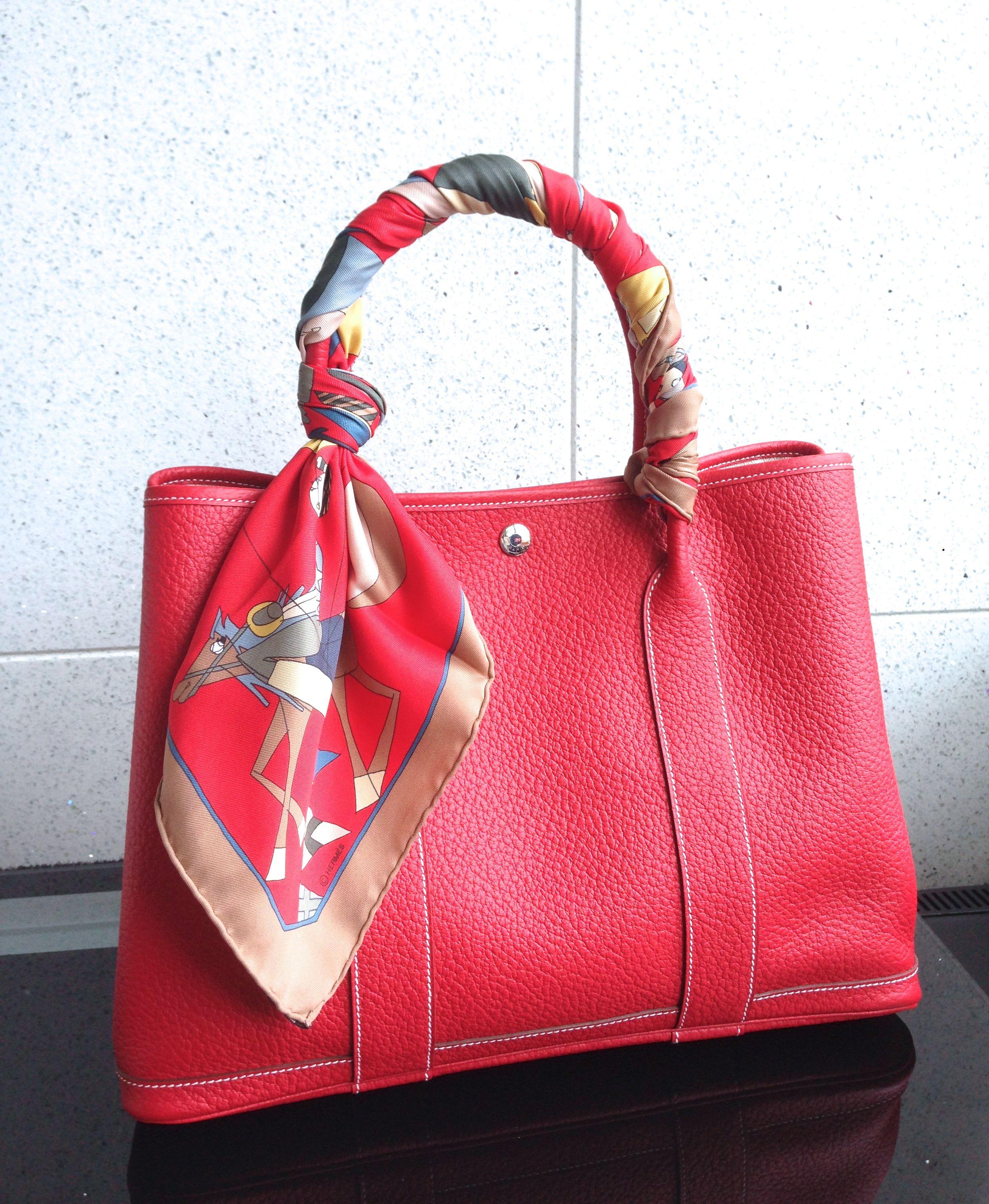 e10b8ca4d6d Hermes Garden Party 36 紅色 (Rogue Casque)