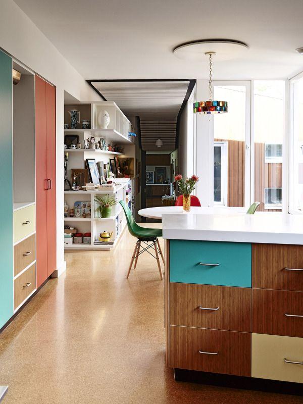 Martin Et Louise Mcintosh Melbourne Home Outre Gallery Planchers Modernes Deco Turbulence Deco