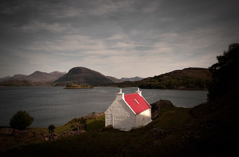 """""""This project confirmed much of what I have often felt about photography: that the camera can never truly capture in a single frame sometime of such beauty... and that pleases me."""" -- David Eustace photographic tribute to the Highlands and Hebridean Islands of Scotland.  #red #scotland #home"""
