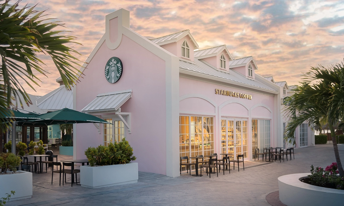 Starbucks' FirstEver Turks And Caicos Store Is A Pretty