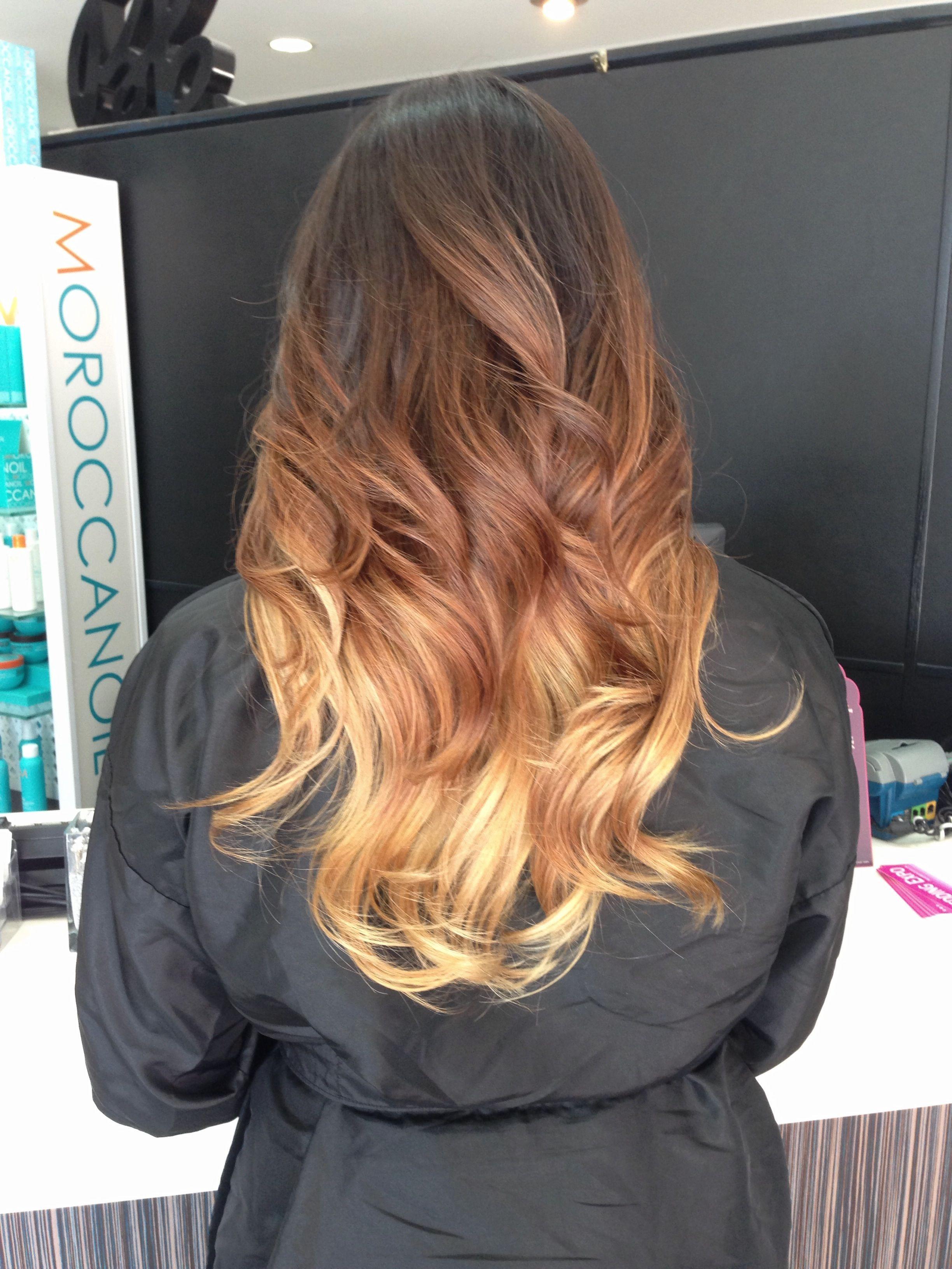 Ombré on medium length hair hair ideas pinterest hair hair
