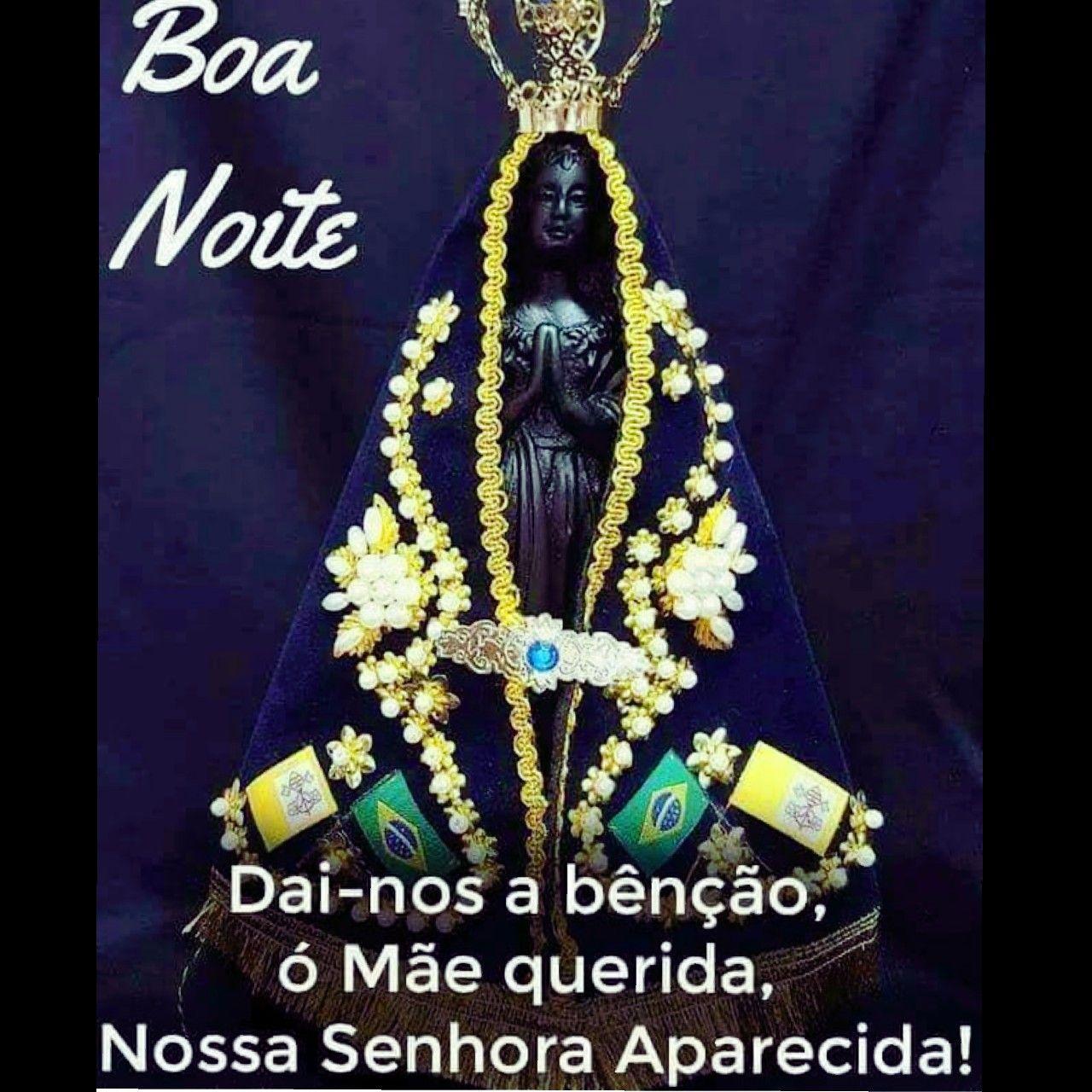 Pin De Jussara Em Jesus Maria E Santos Boa Noite Nossa Senhora