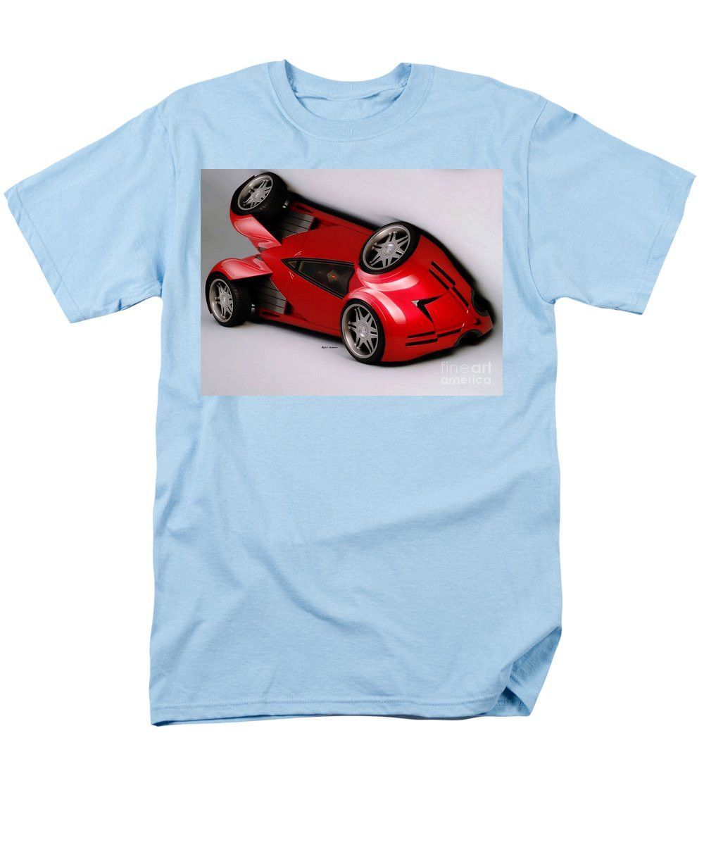 Men's T-Shirt (Regular Fit) - Red Car 009