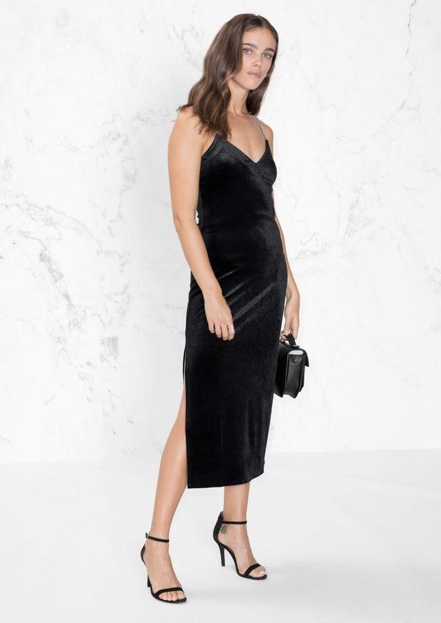 Bodycon Dress With Rhinestone Straps Fashion Flair Jewelry And