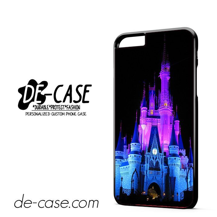 Disney Castle Night Lights DEAL-3306 Apple Phonecase Cover For Iphone 6/ 6S Plus