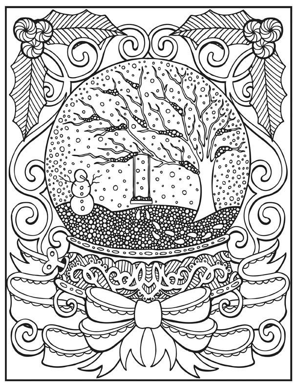 Christmas Snowball Coloring Page Coloring Pages Easter Coloring