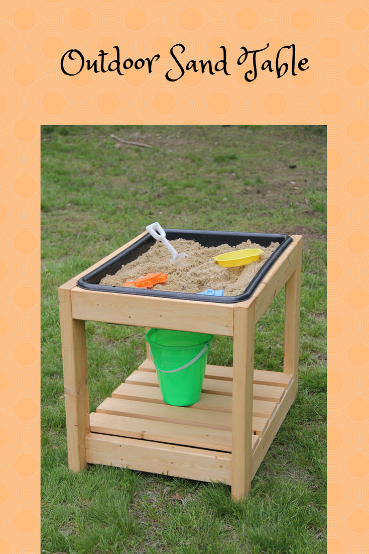 Outdoor sand table with cover - a cleaner way for kids to play in the sand box! & Outdoor sand table with cover - a cleaner way for kids to play in ...