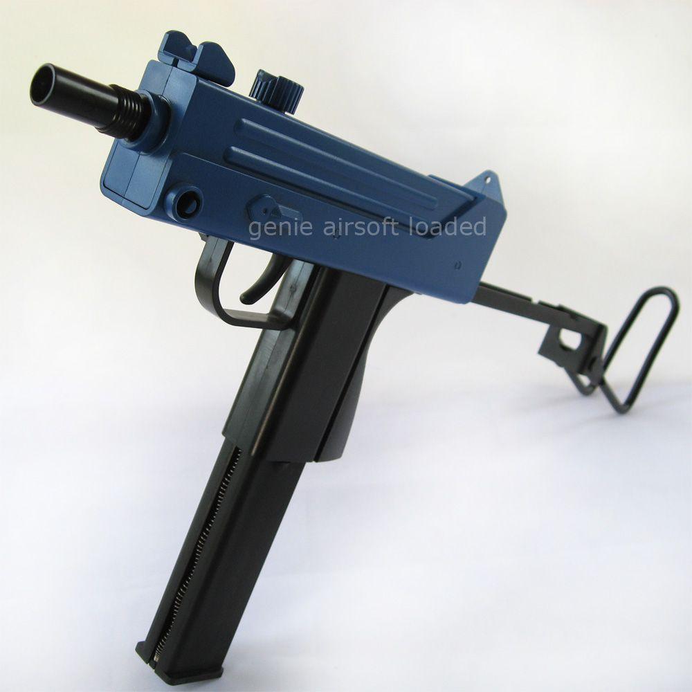 Kwc M11 Uzi Style Semi-auto Airsoft Gun 2-tone