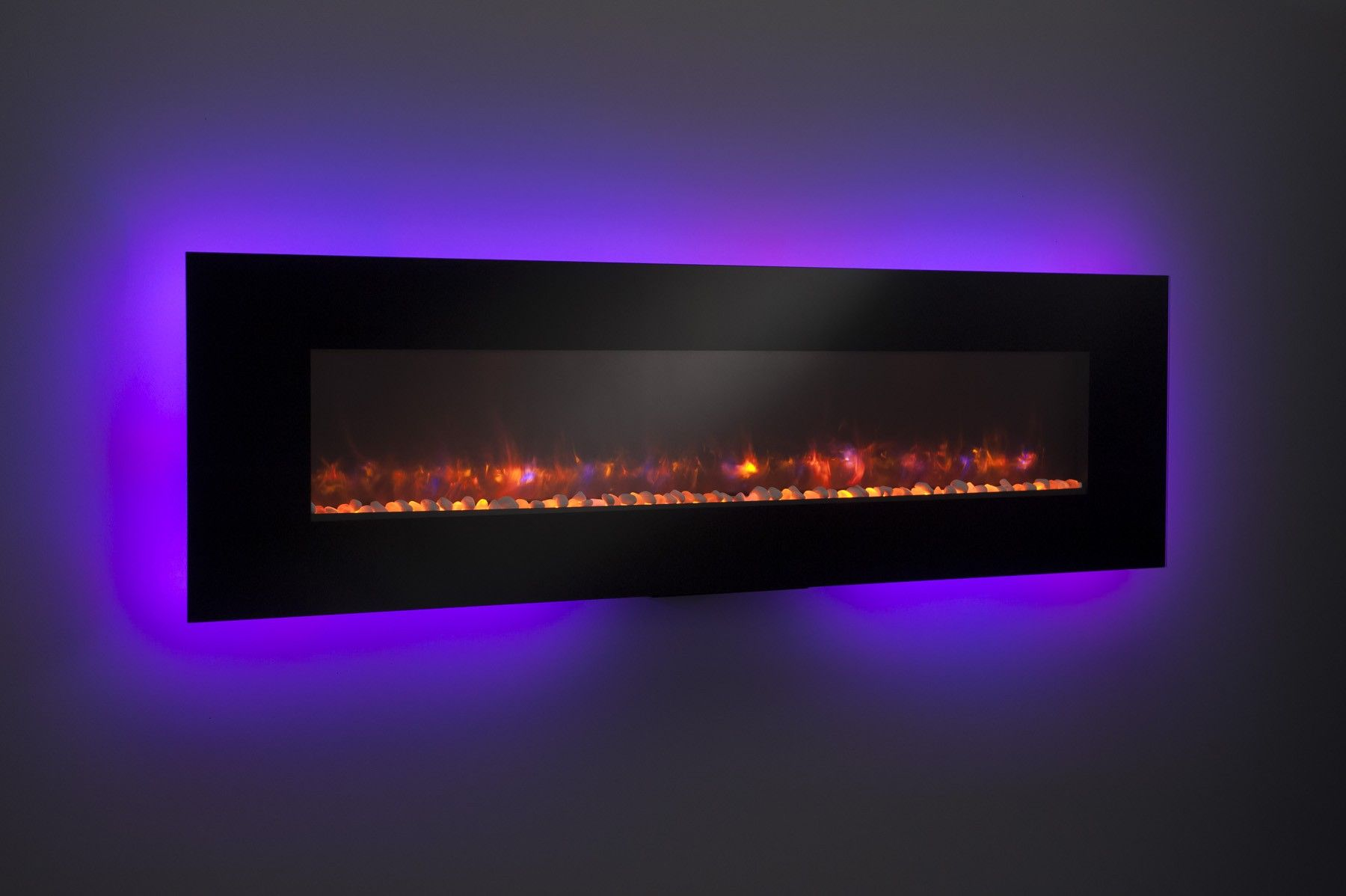High Definition Electric Fireplace Led Lights That Change
