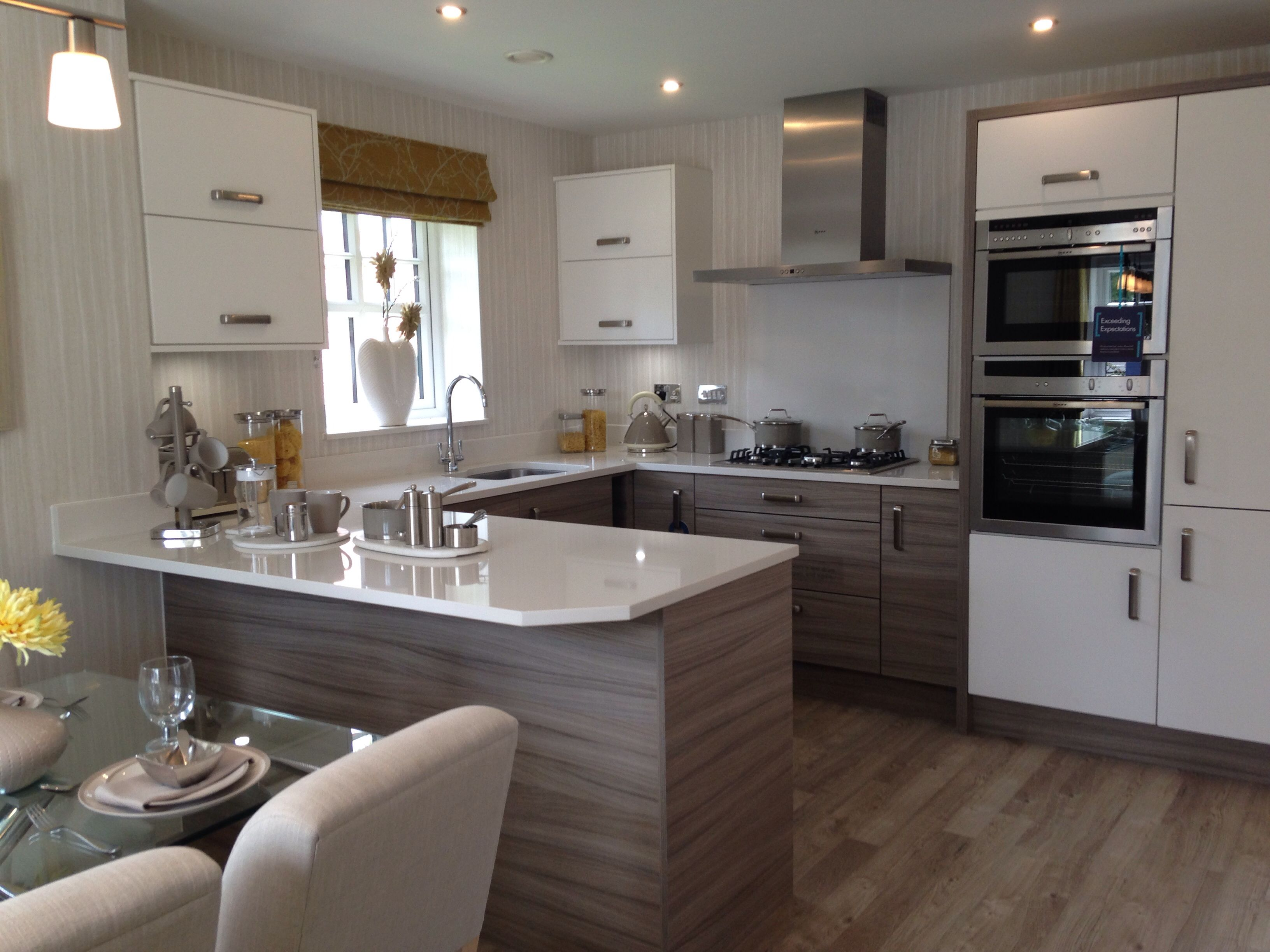 Morris show home kitchen bollington 2 special for Morris home