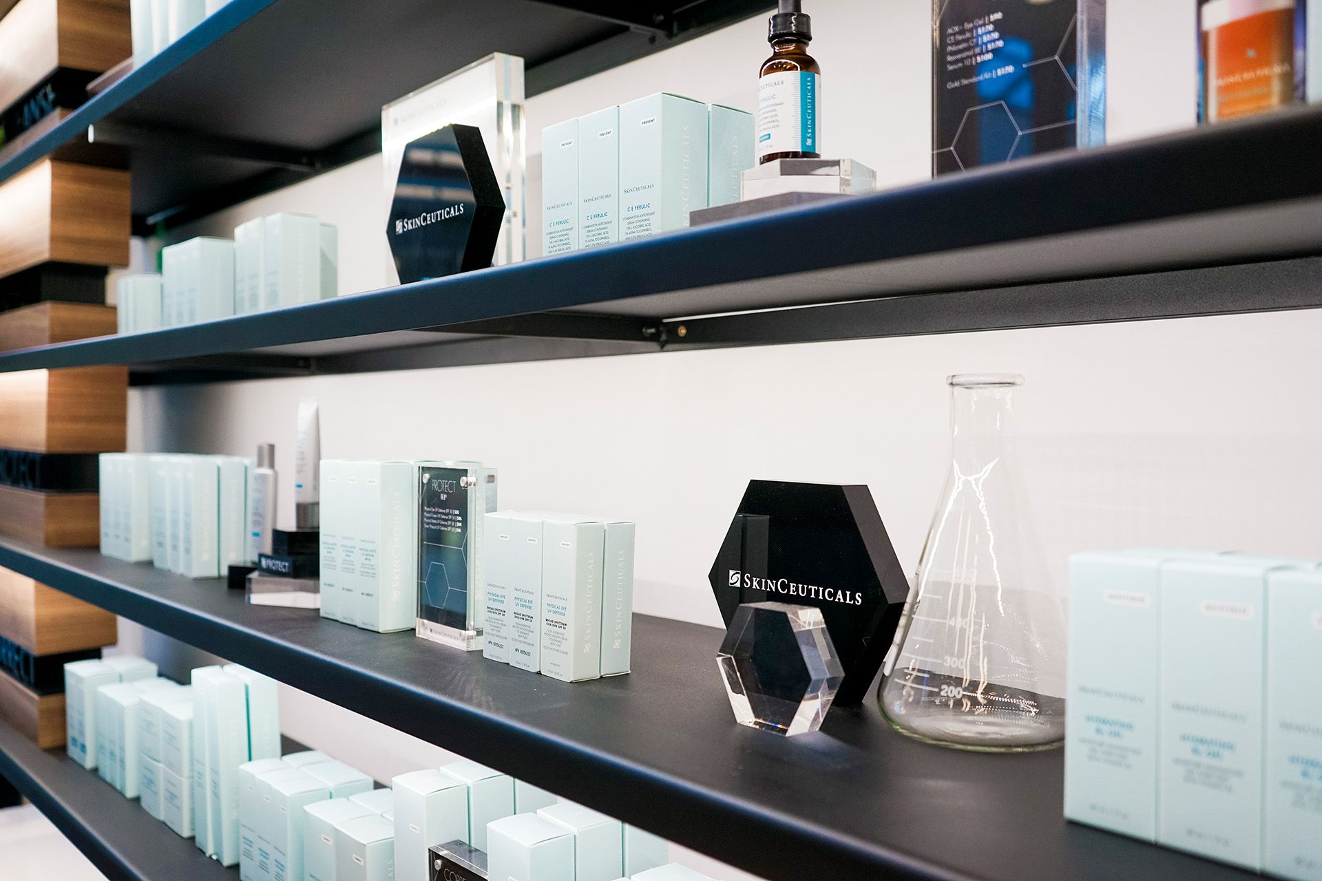 Retail Interior Design By Cutler For Project Skin Skinceuticals In