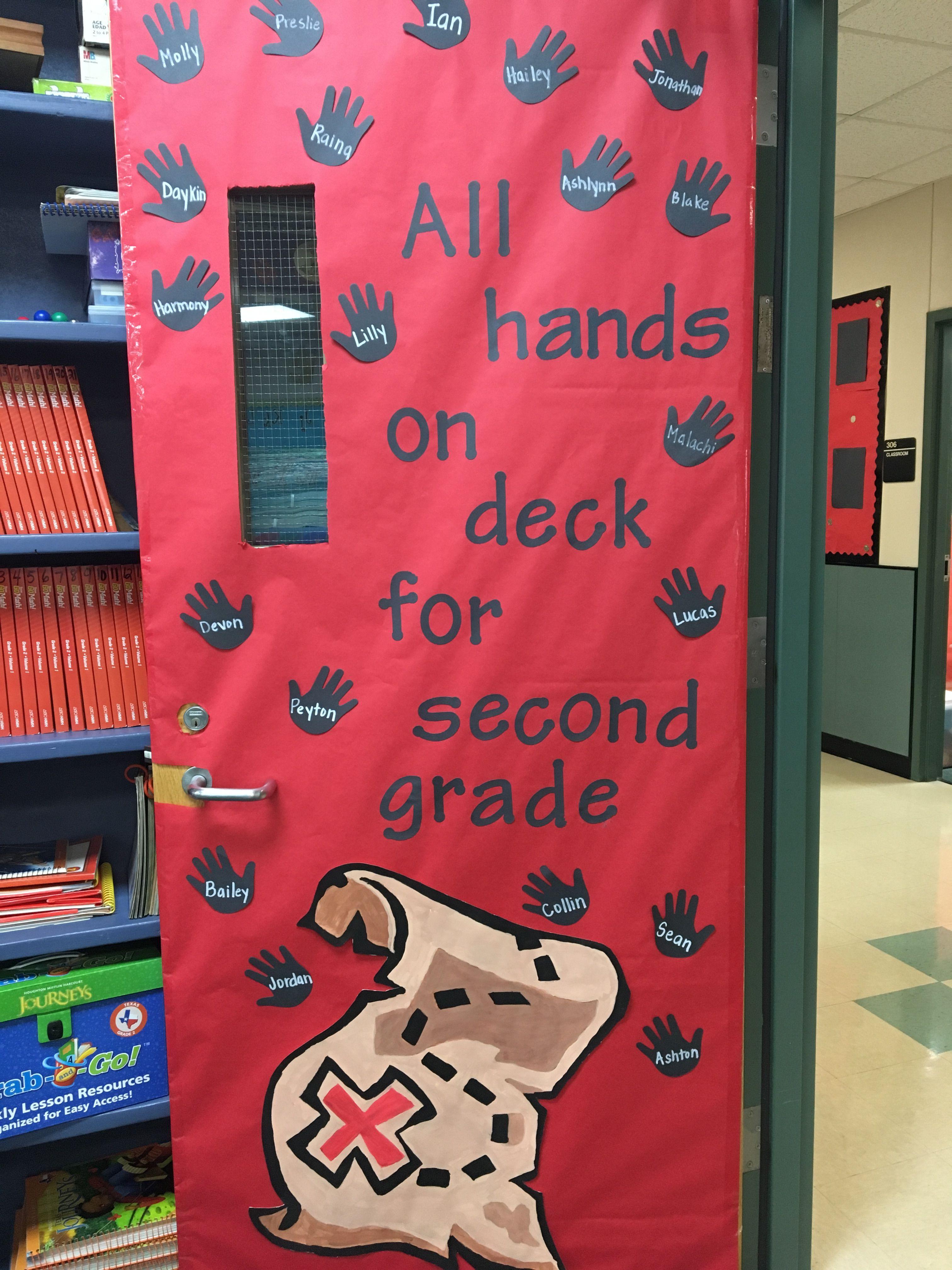 Pirate Theme Door Door Decorations Preschool Pirate Theme