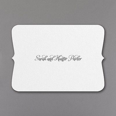 Say Thank You For Wedding Gifts With CrestShaped Thank You Notes