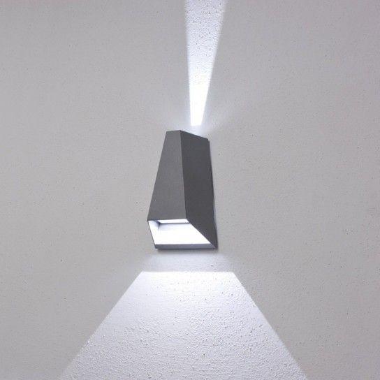 led per esterni - Faro led da parete