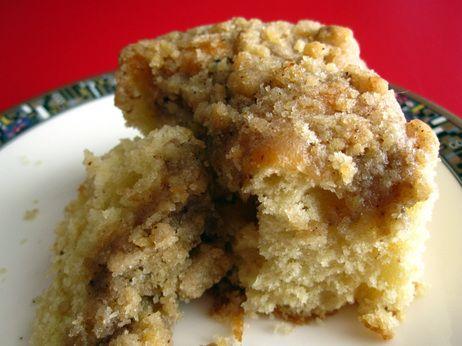 Sour Cream Coffee Cake Sour Cream Coffee Cake Coffee Cake Recipes Coffee Cake Easy
