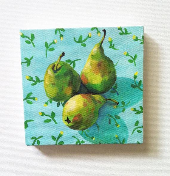 Pears Mini Print