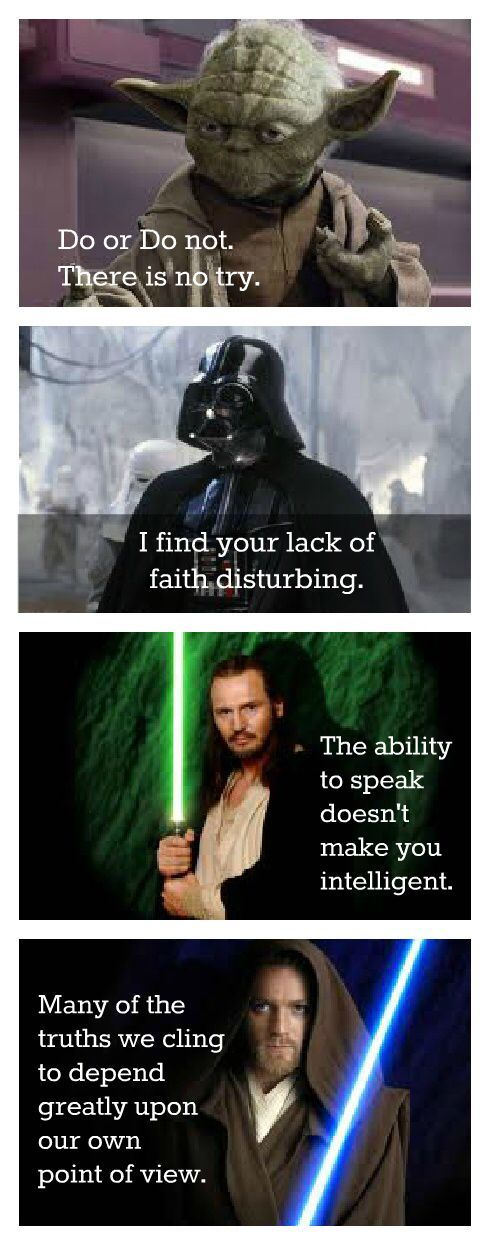 Famous Star Wars Quotes Star Wars Pinterest Star Wars Quotes