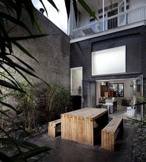 Lovely simple outdoor area
