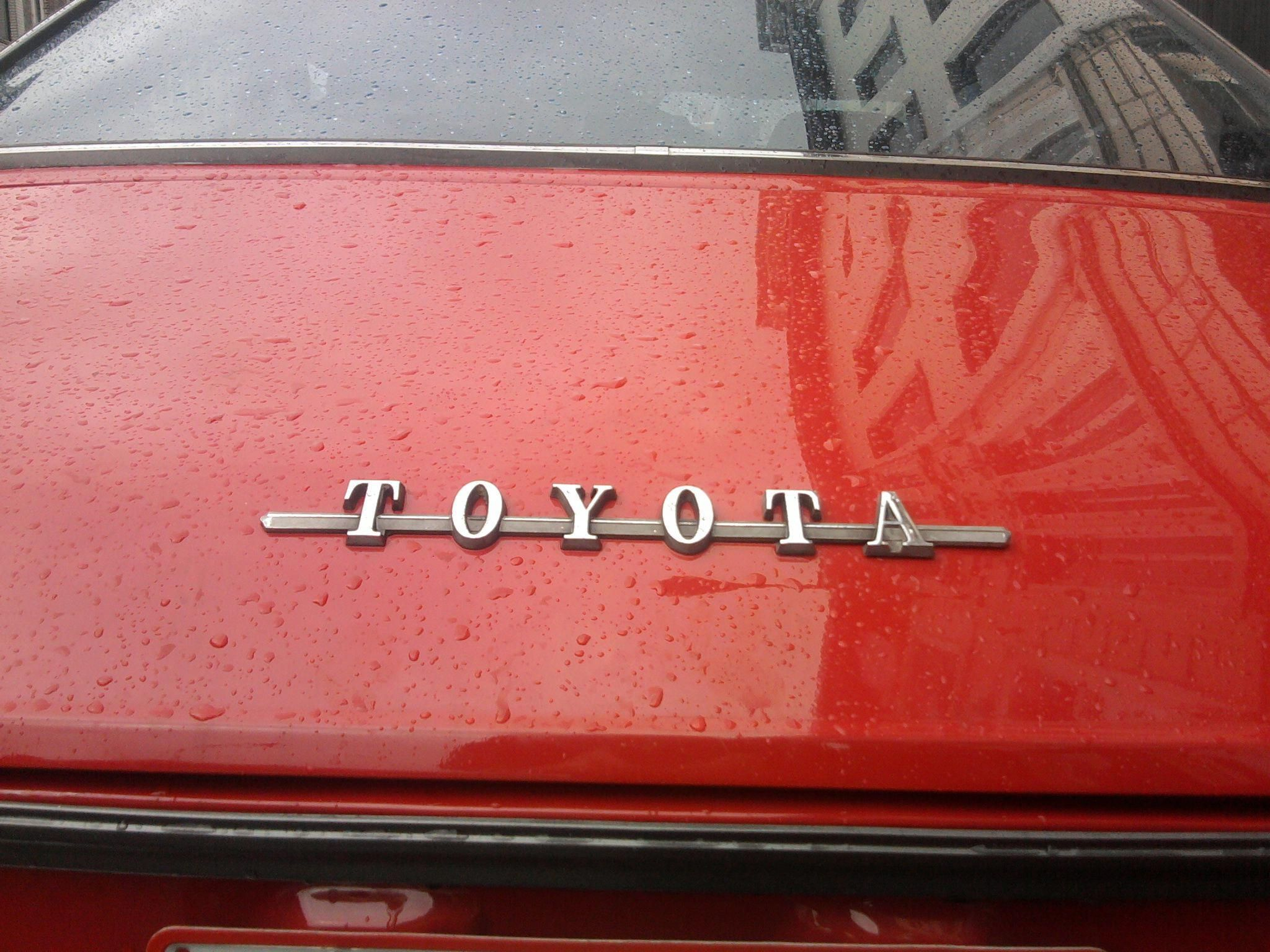 Toyota I Wonder Where This One Is From Toyota Classic Cars