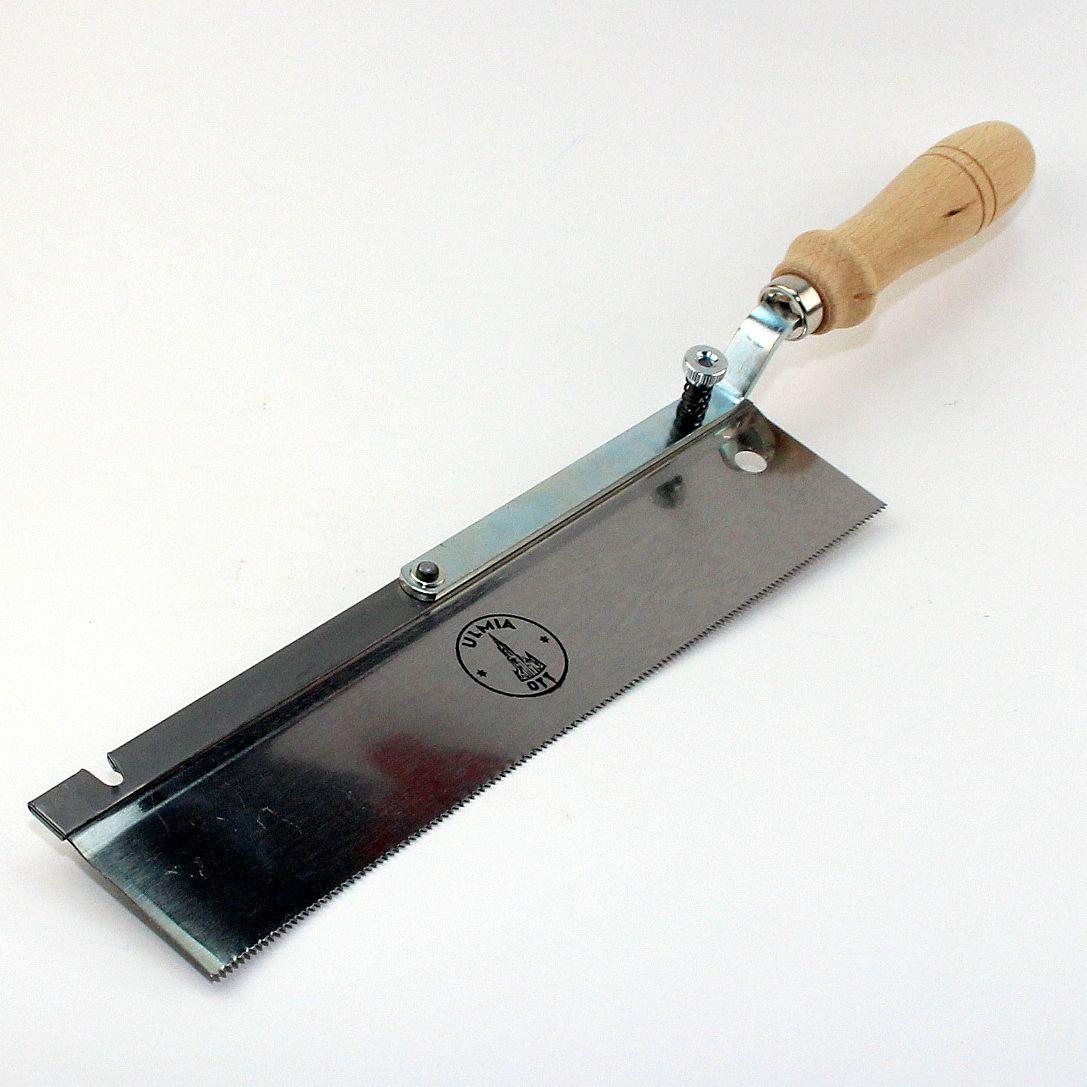 ulmia profi feinsäge 250 mm gekröpft, umlegbar | tischlerwerkzeug