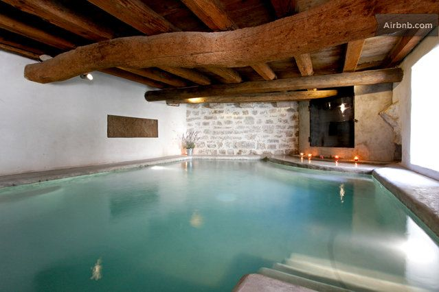 airbnb with indoor pool near me