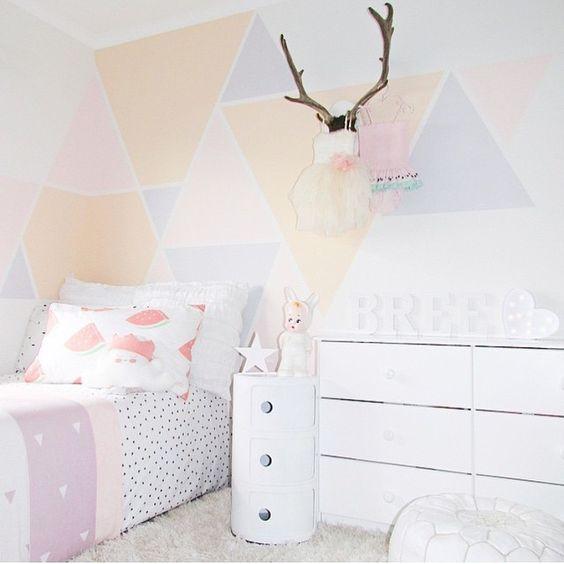 10 chambres de petite fille pastel I clubmamans.com | déco ...