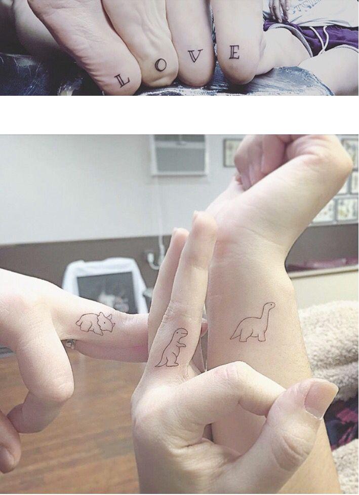 61117166e tattoo #bff #friendship   Tattoos   Sibling tattoos, Dinosaur ...