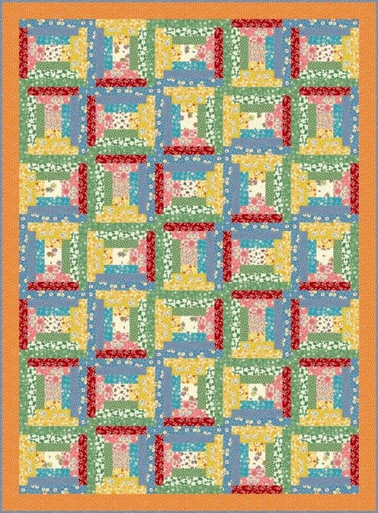 Grace in a Pickle - Courthouse Steps by Heidi Pridemore | Gees ... : courthouse steps quilt block - Adamdwight.com