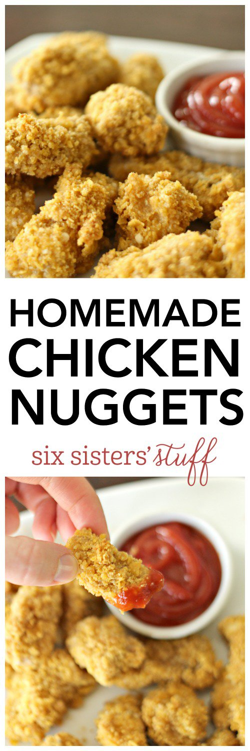 Homemade Chicken Nuggets   Recipe   Baby food recipes ...