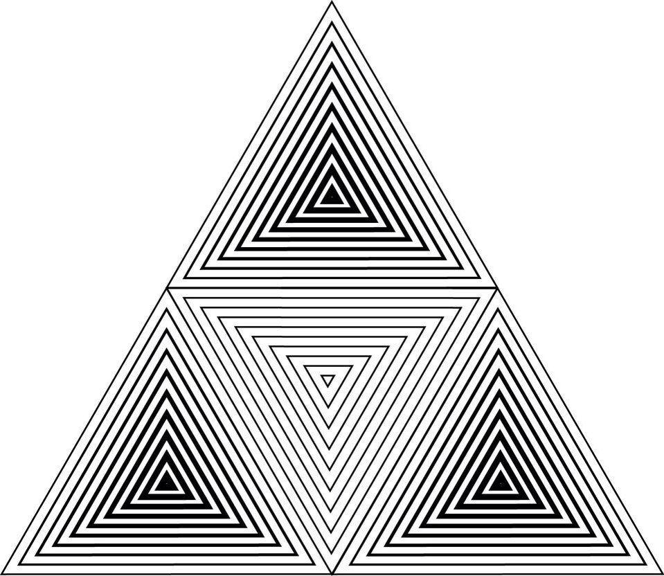 быстрый картинки с треугольниками графика конструкция, которую