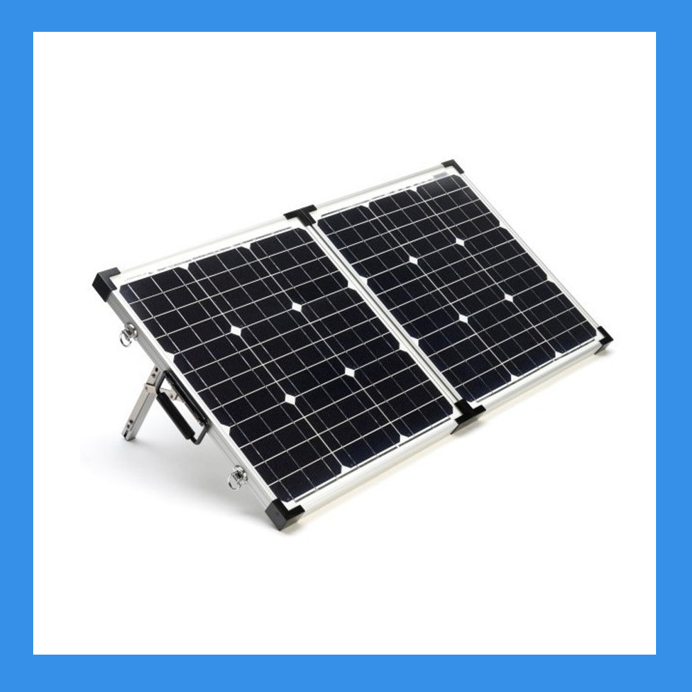 120 Watt Foldable Solar Panel For Charging Power Packs Free Padded Case Bsp 120 Solar Energy Panels Solar Panels Monocrystalline Solar Panels