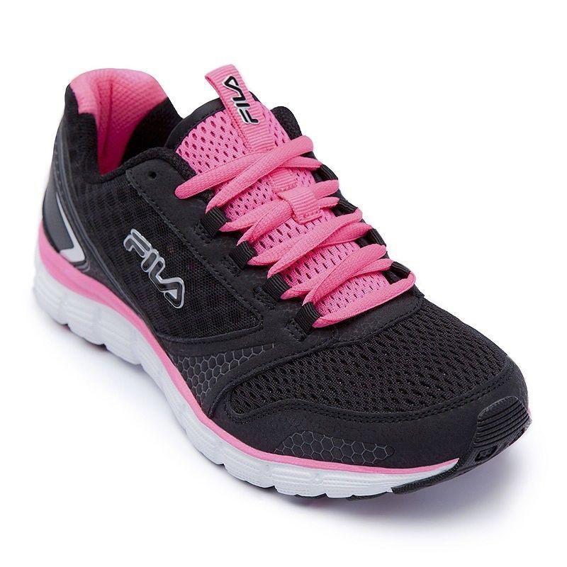 fila shoes pink and black \u003e Clearance shop
