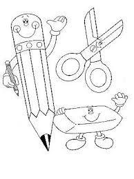 Resultado De Imagen De Dibujos Infantiles Con Motivos Escolares Para