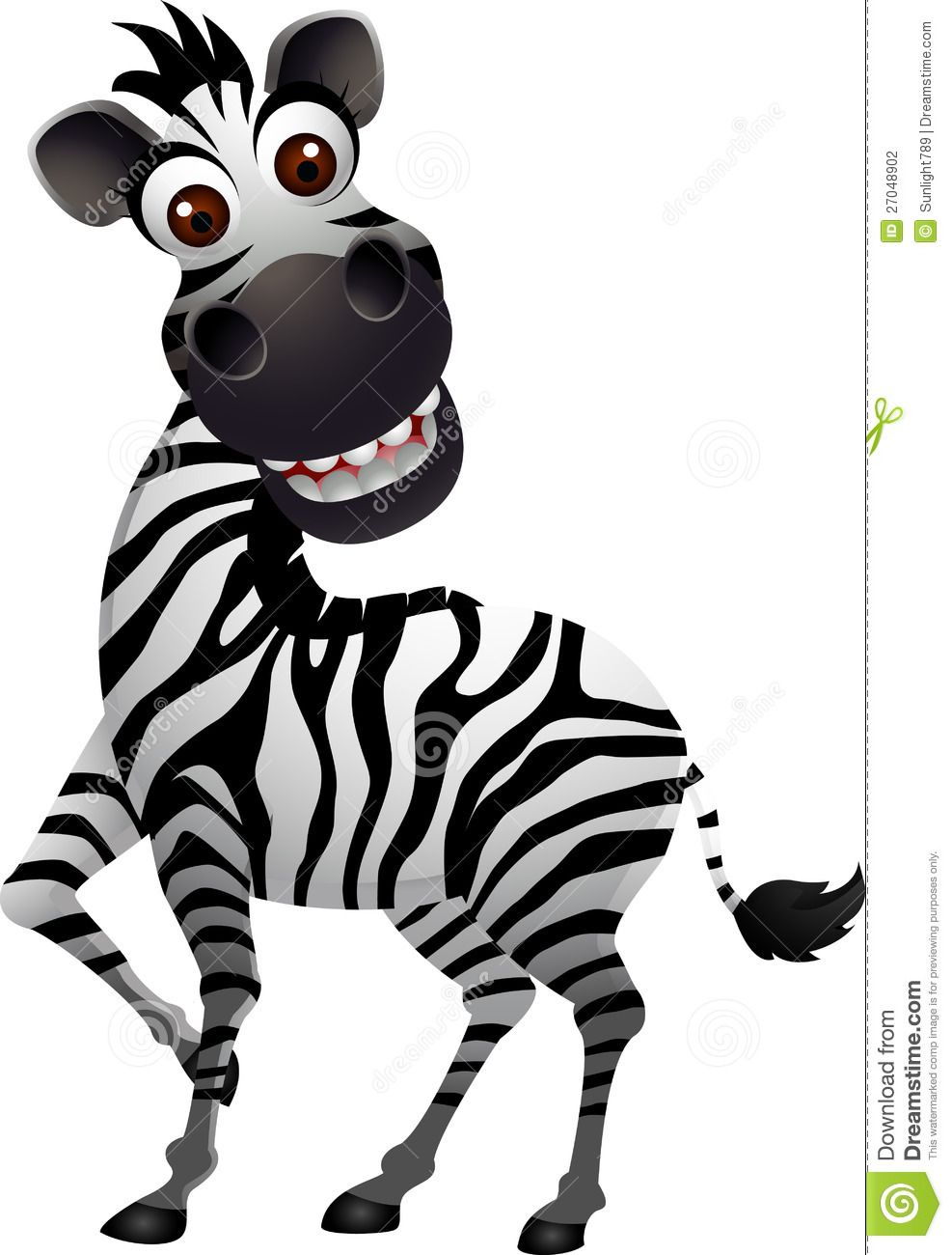 Funny and Cute Zebra | Funny zebra cartoon | Funny zebras ...