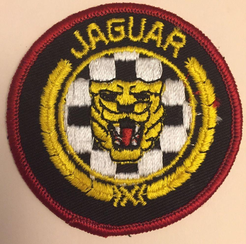 Jaguar Automobiles Logo Embroidered Patch Badge Tiger