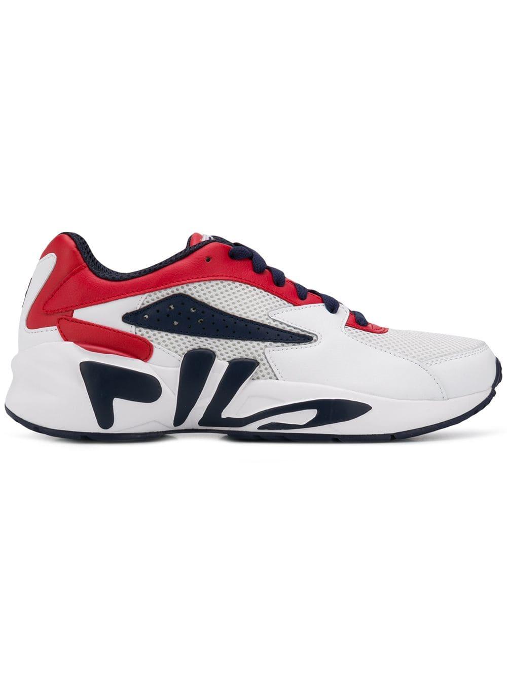 FILA FILA MINDBLOWER LACE UP SNEAKERS WHITE. #fila #shoes
