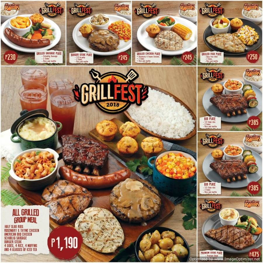Kenny Rogers Roasters Grill Fest 2018 - Affordable SOLO ...