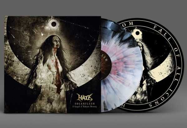 Hate - Solarflesh, a gospel of radiant divinity (farbiges Vinyl Aside-Bside + Oxblood Splatter, lim. 100), 2-LP