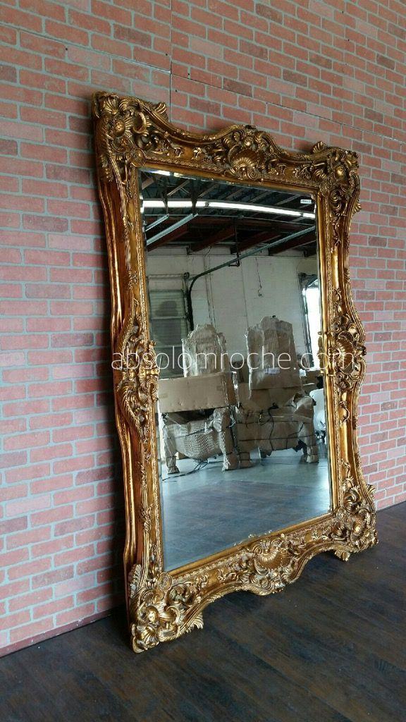 Baroque Mirror Antique Gold, Baroque Gold Floor Mirror
