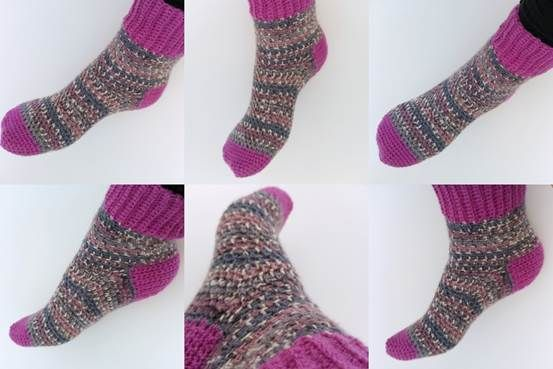 Perfect Fit Crochet Socks | Deramores
