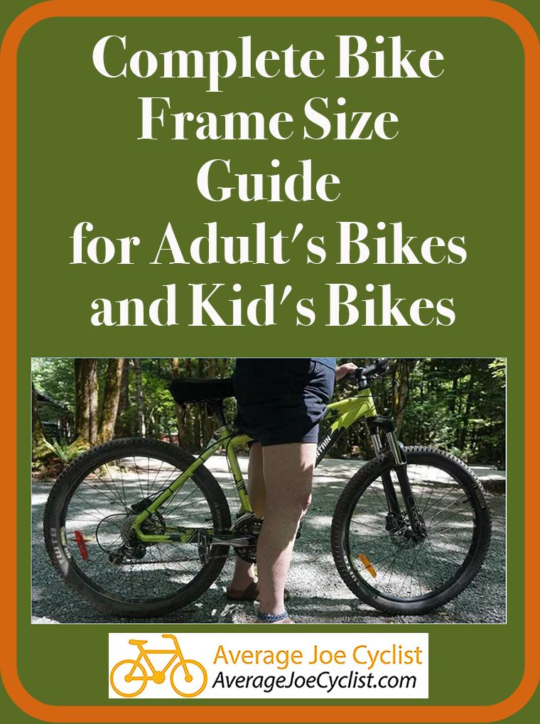 Bikesizeguide Jpg 1205 885 Bicycle Frame Size Bmx Bike Frames