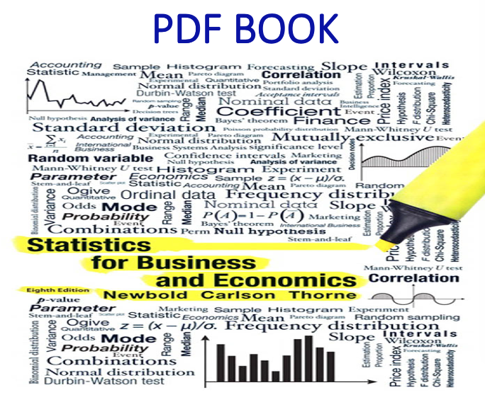 Statistics For Business And Economics 8th Edition Pdf Book By Paul Newbold William Carlson Betty T Business And Economics Pdf Books Economics