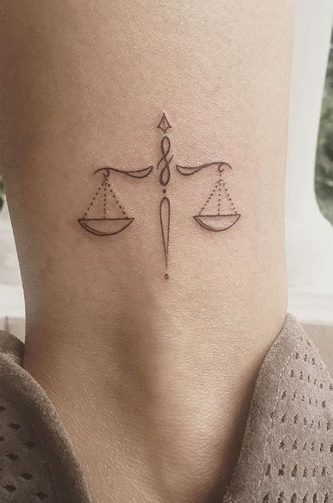 85 Unique Libra Tattoos to Compliment Your Personality and Body – Tattoo Me Now