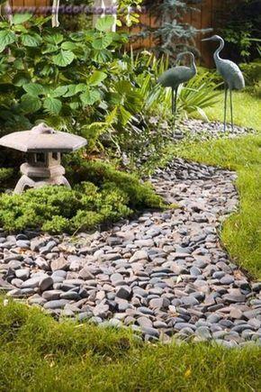 Peacefully Japanese Zen Garden Gallery Inspirations 77 - Rockindeco #zengardens